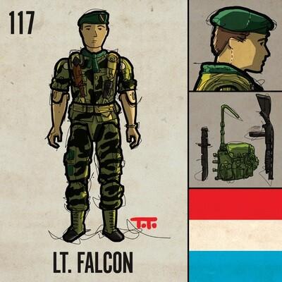 G365 SQ-117 LT. FALCON