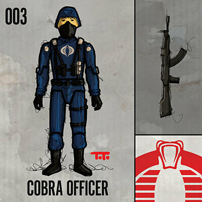 G365 SQ-003 COBRA OFFICER