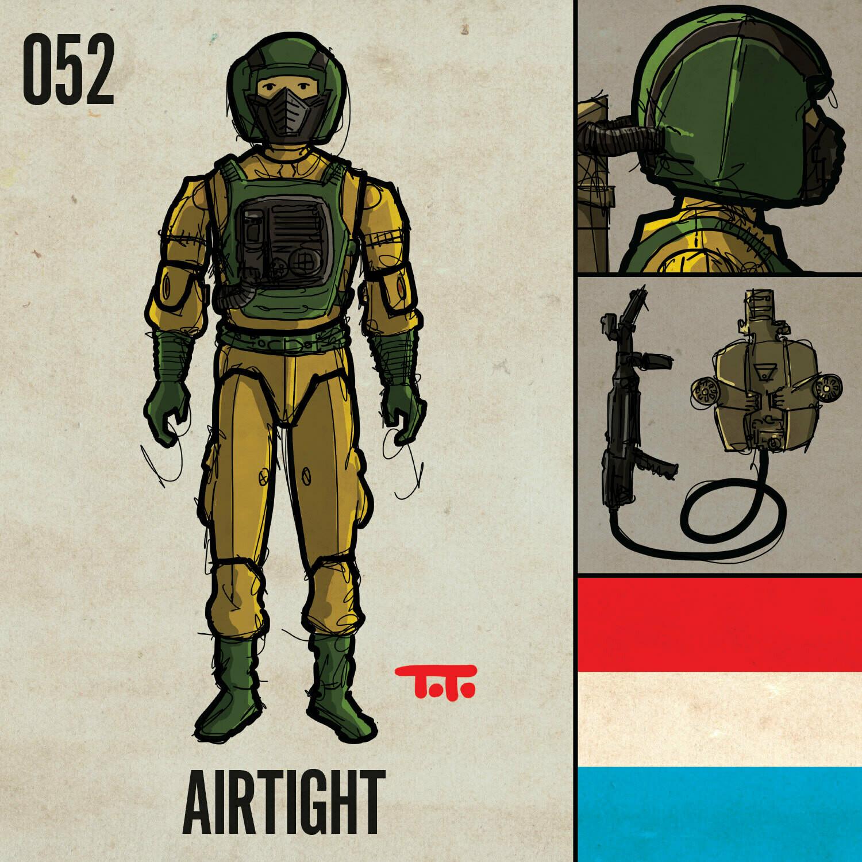 G365 SQ-052 AIRTIGHT