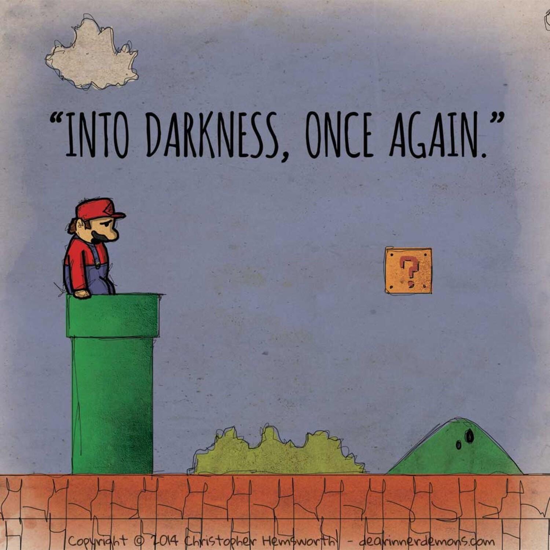 POSTCARD - DID - VG - Mario 1