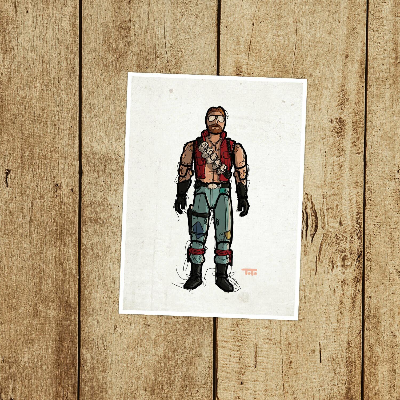 "GIJOE365 089: ""Monkeywrench"" prints"