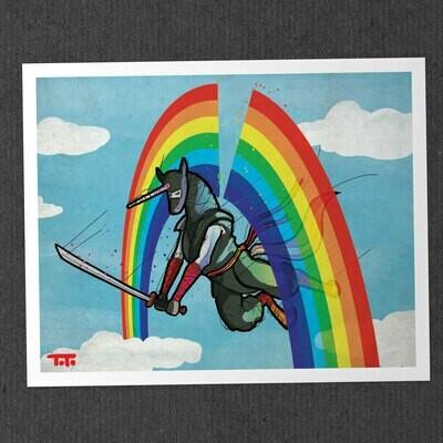 Ninjacorn Print