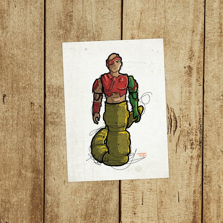 "GIJOE365 141: ""Golobulus"" prints"