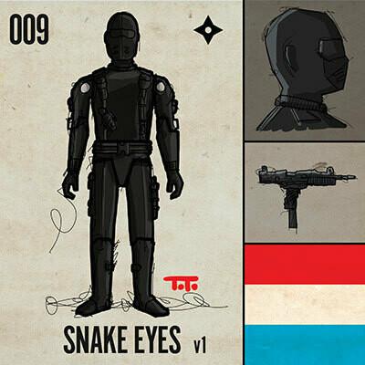 G365 SQ-009 SNAKE EYES v1