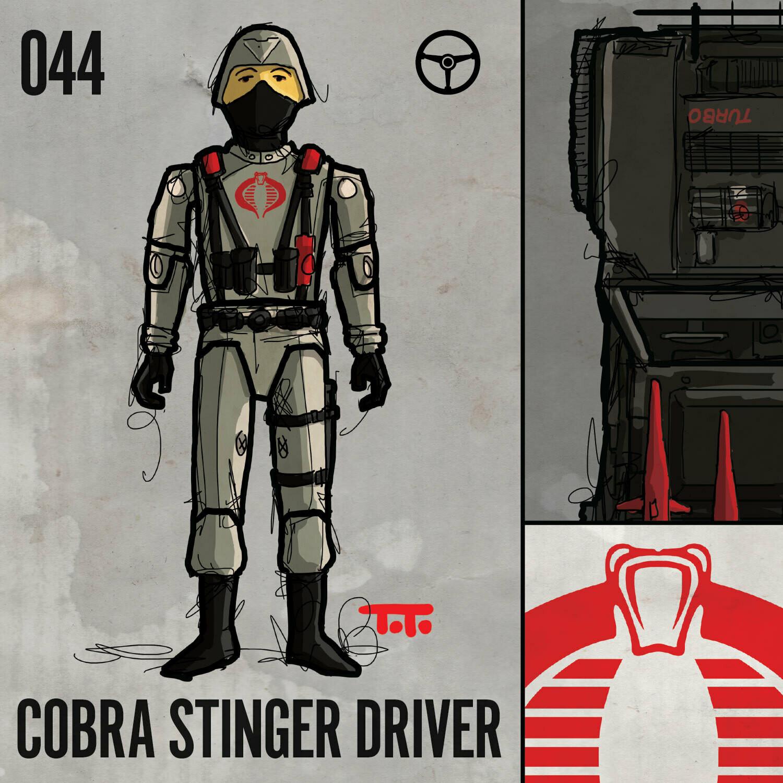 G365 SQ-044 STINGER DRIVER