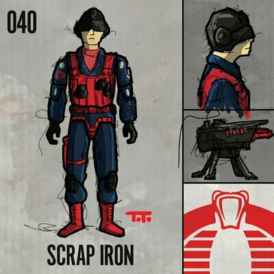 G365 SQ-040 SCRAP IRON