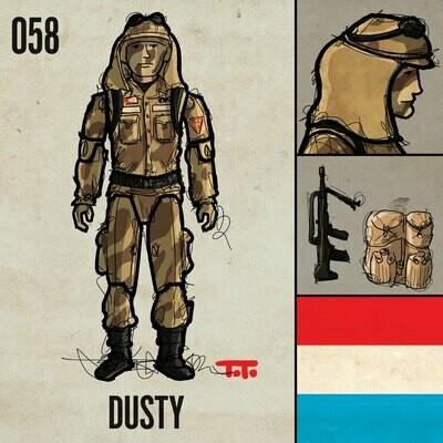 G365 SQ-058 DUSTY