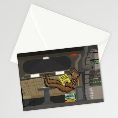 DID - CARD - Chewie