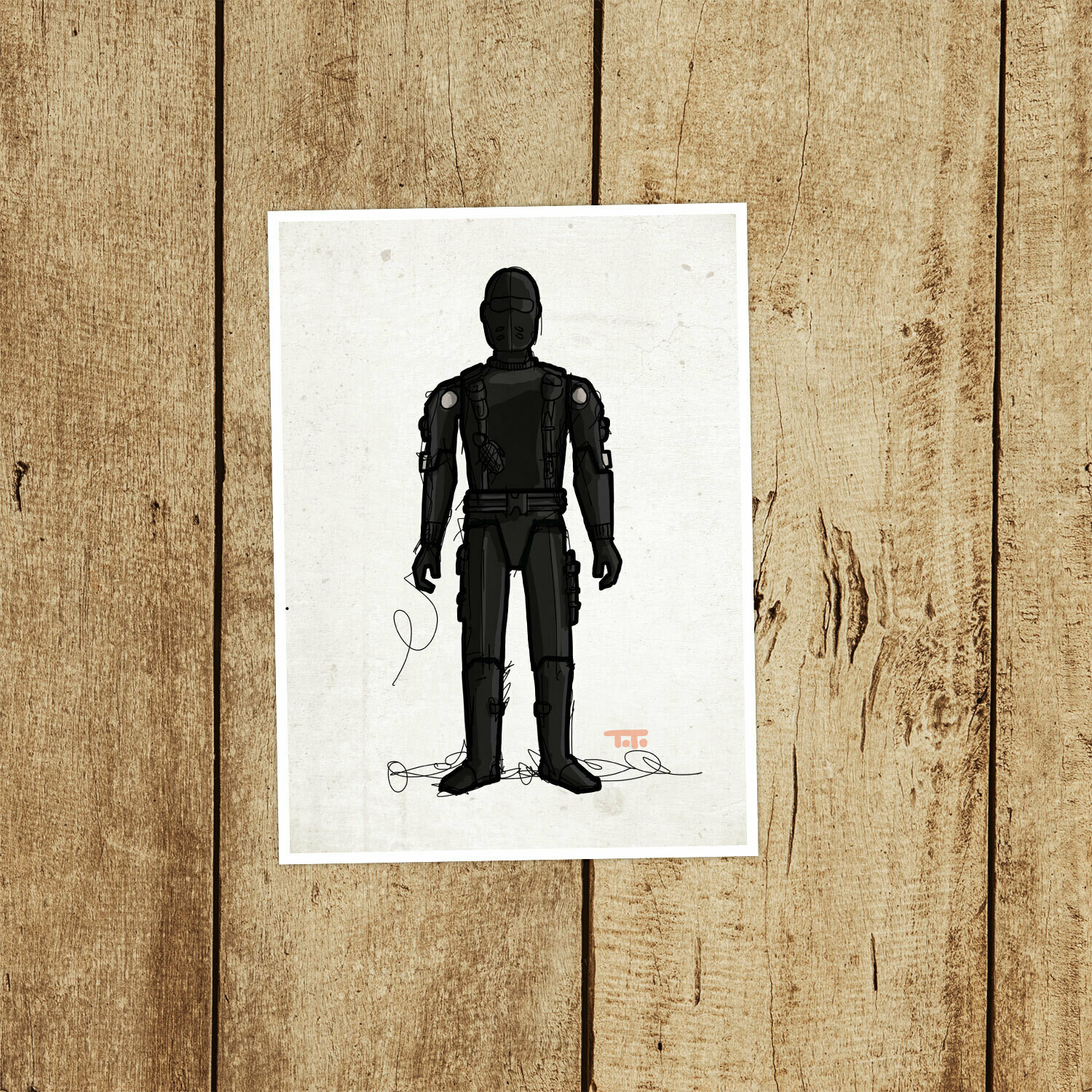 "GIJOE365 009 ""Snake Eyes"" Prints"