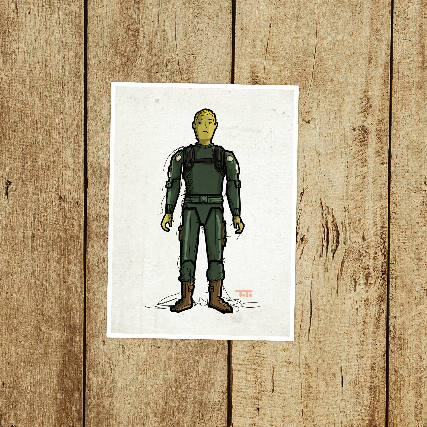 "GIJOE365 008 ""Short-Fuze"" Prints"