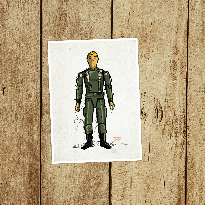 "GIJOE365 014 ""Hawk"" Prints"