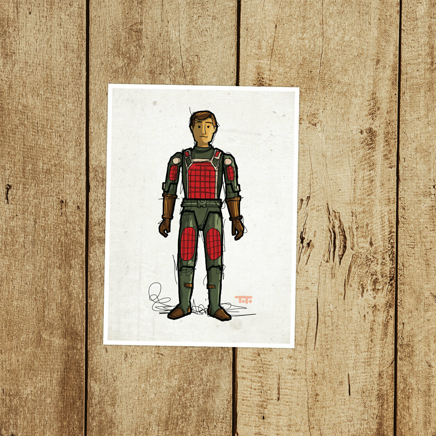"GIJOE365 004 ""Flash"" Prints"