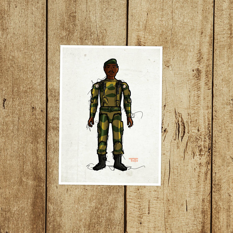 """GIJOE365 010 """"Stalker"""" Prints"""