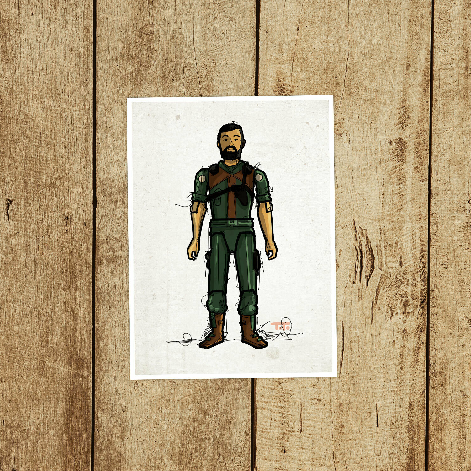 "GIJOE365 012 ""Clutch"" Prints"