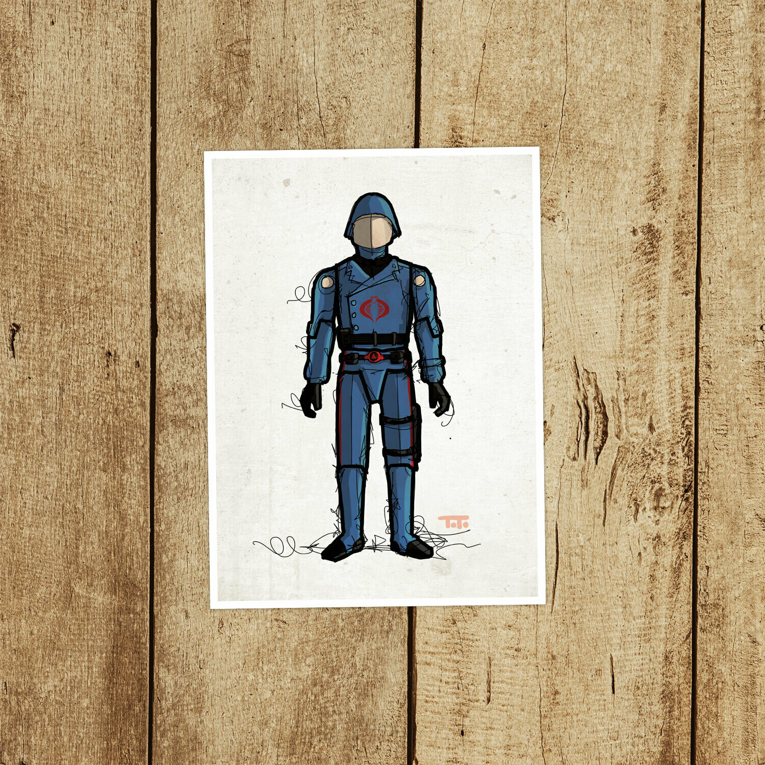 "GIJOE365 016 ""Cobra Commander v1"" Prints"