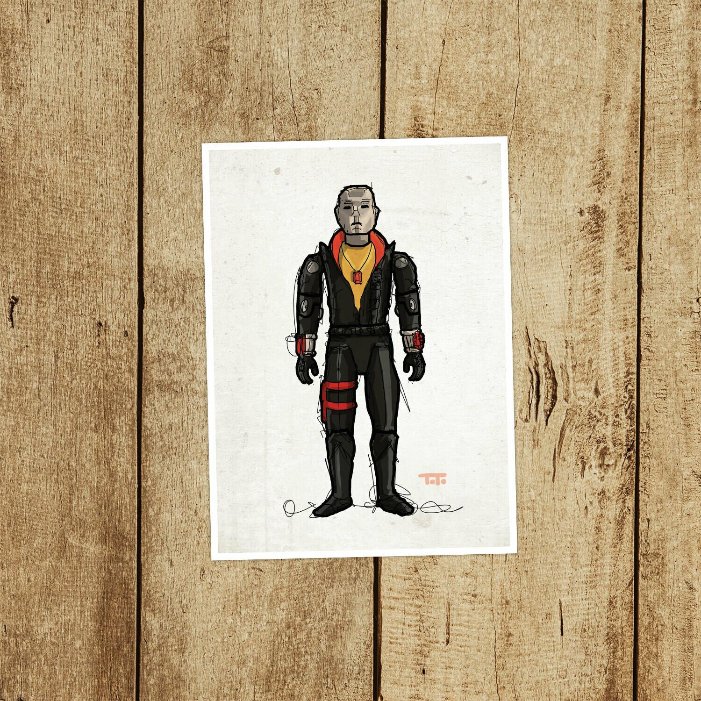 """GIJOE365 018 """"Destro"""" Prints"""