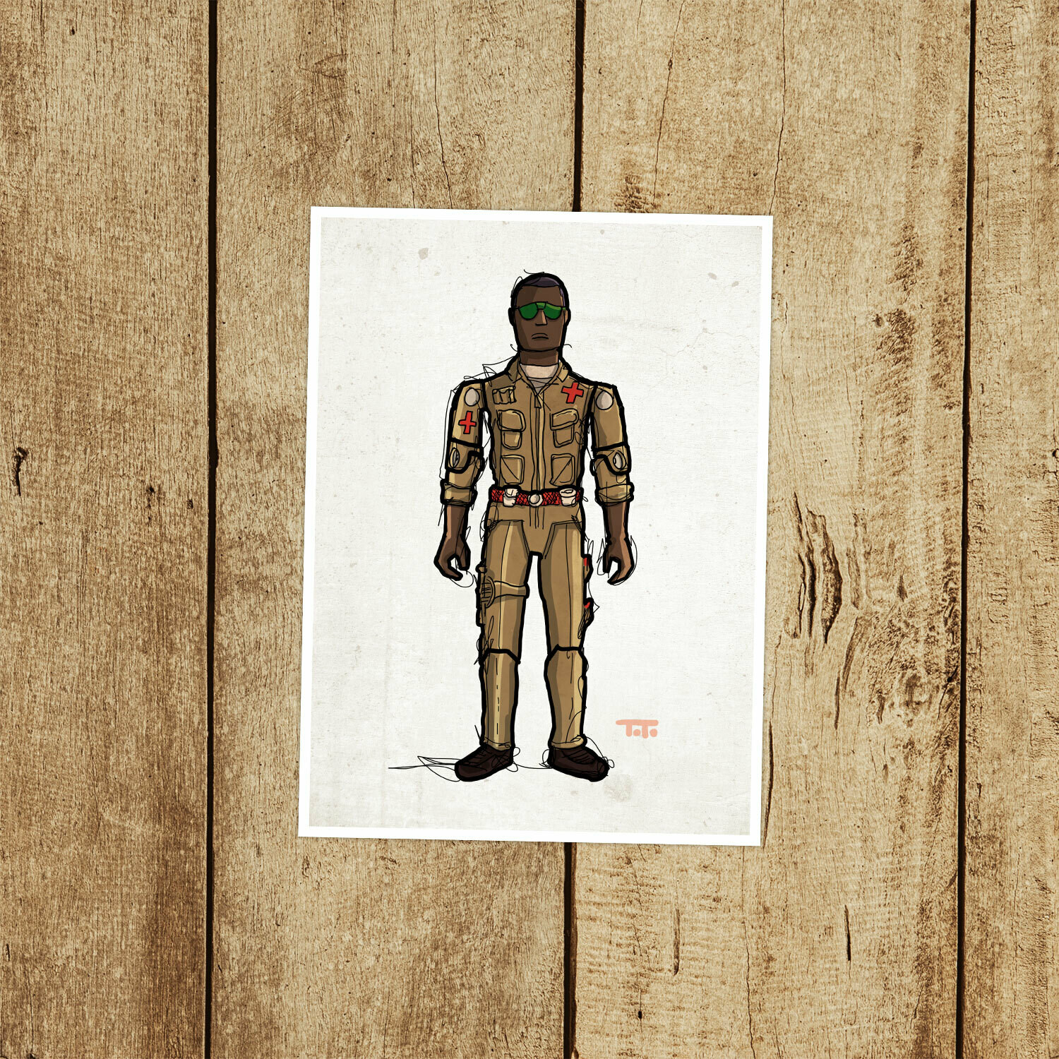 "GIJOE365 019 ""Doc"" Prints"