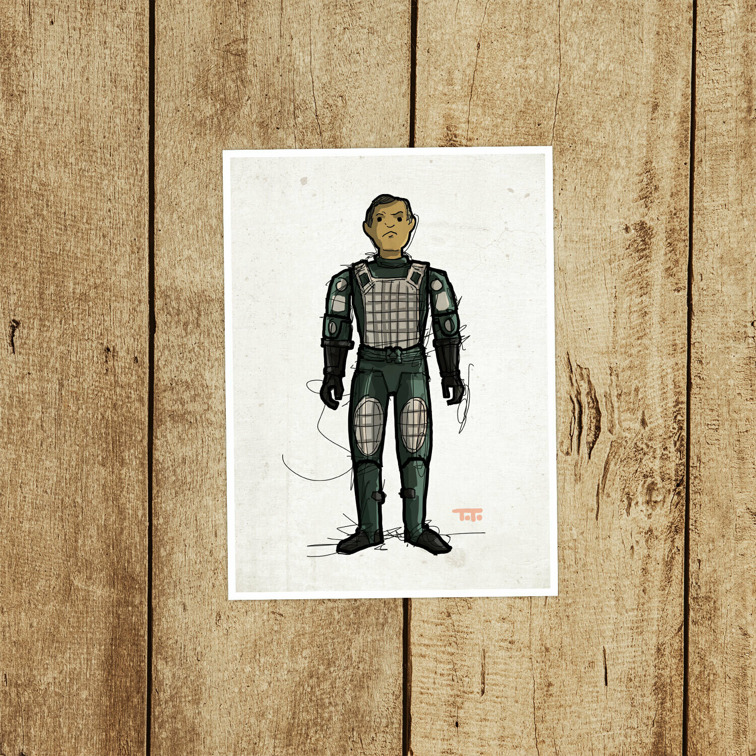 "GIJOE365 028 ""Grand Slam (v2)"" Prints"