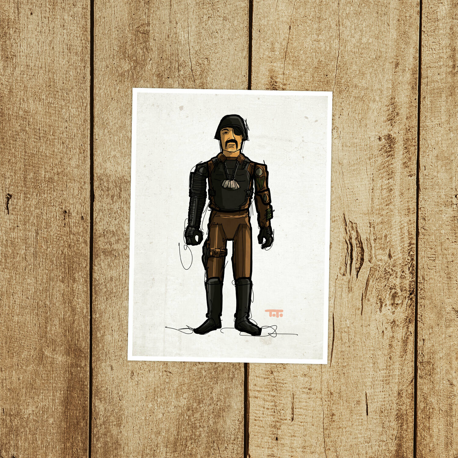 "GIJOE365 021 ""Major Bludd"" Prints"