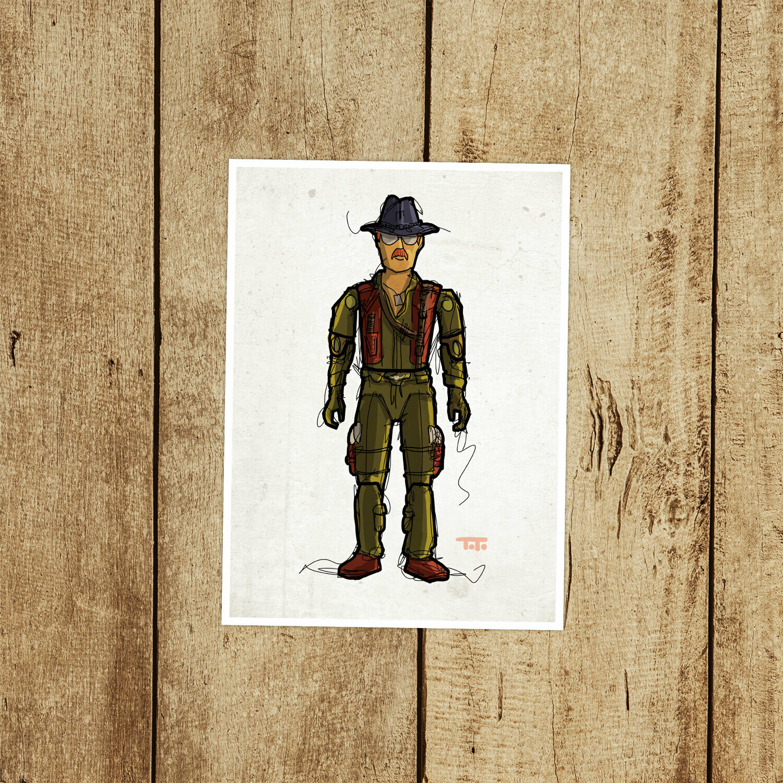 """GIJOE365 031 """"Wild Bill"""" Prints"""