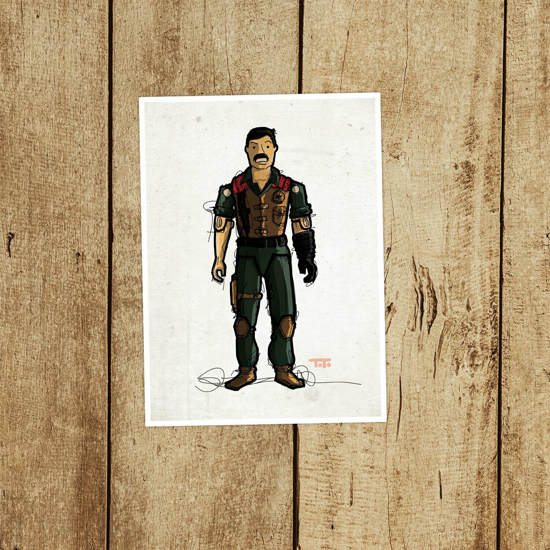 "GIJOE365 036 ""Mutt"" Prints"