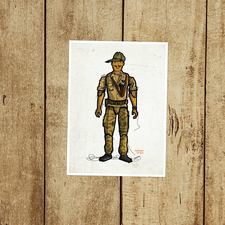 """GIJOE365 037 """"Recondo"""" Prints"""