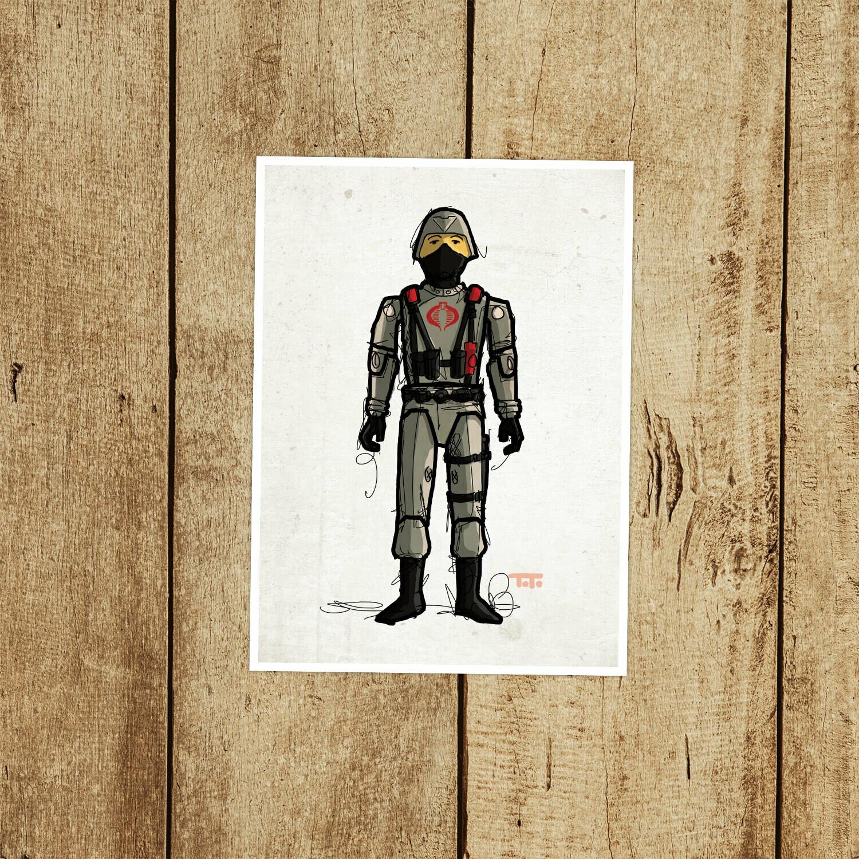 "GIJOE365 044 ""Cobra Stinger Driver"" Prints"