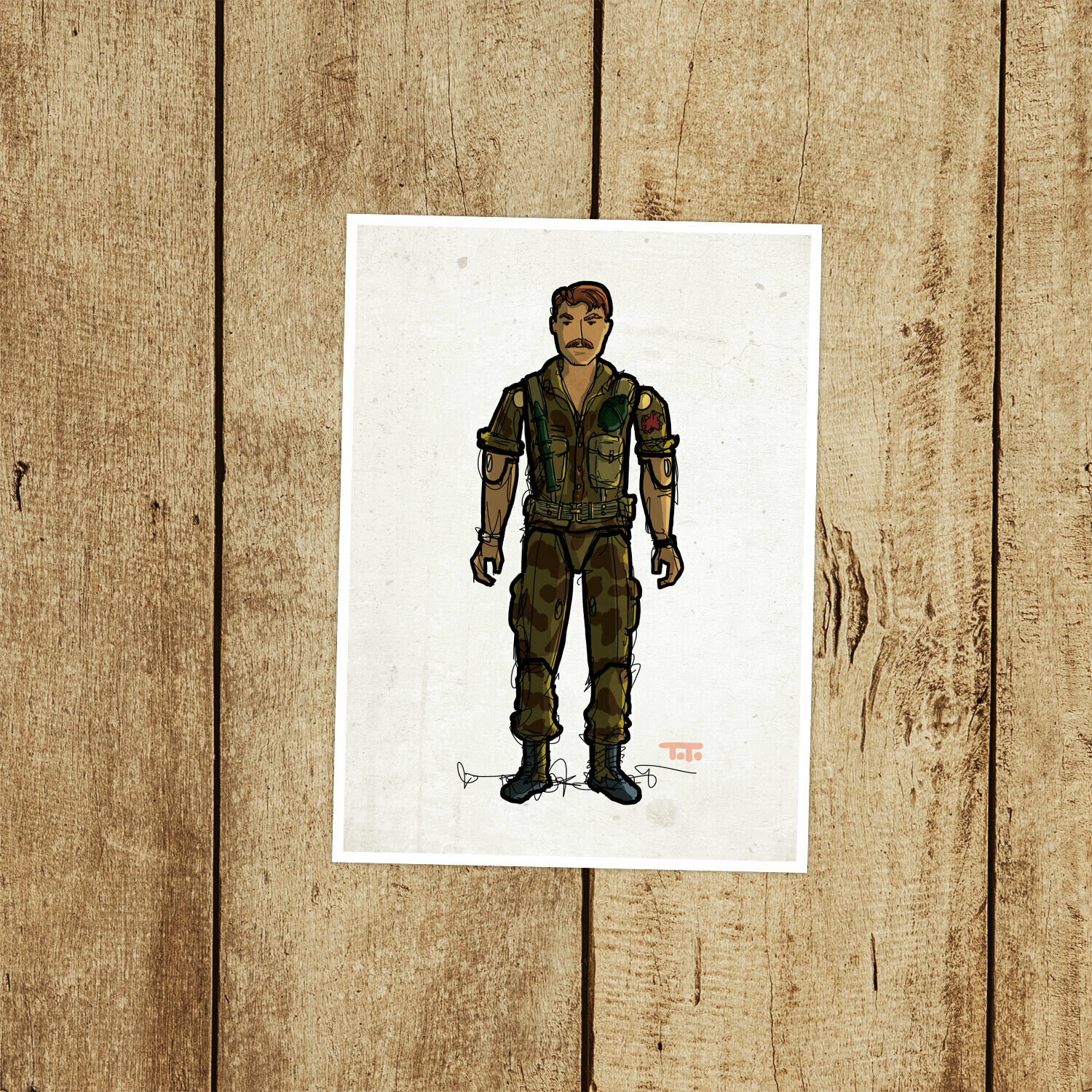 "GIJOE365 061 ""Footloose"" Prints"