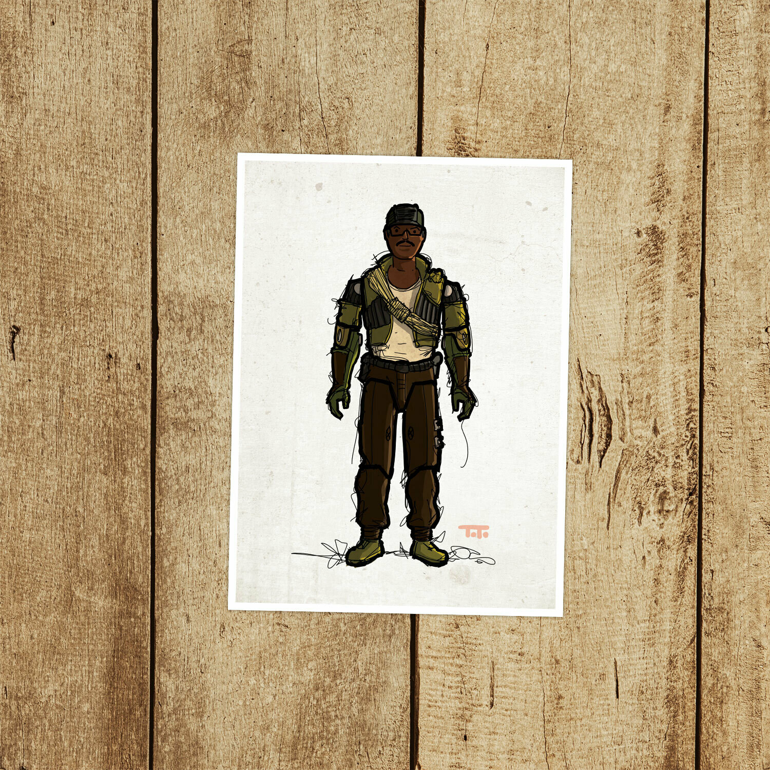 "GIJOE365 053 ""Alpine"" Prints"