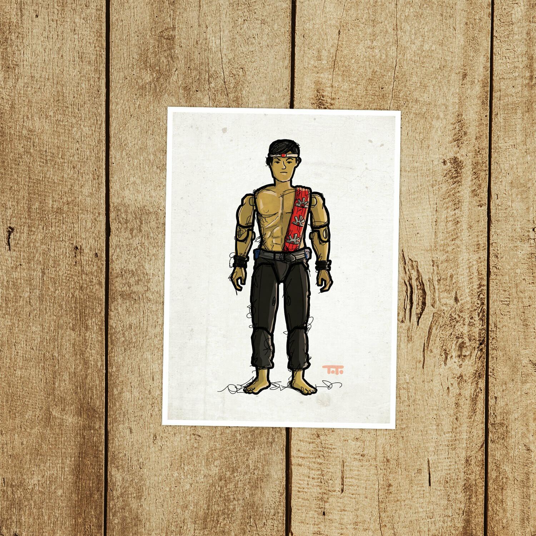"GIJOE365 063 ""Quick Kick"" Prints"