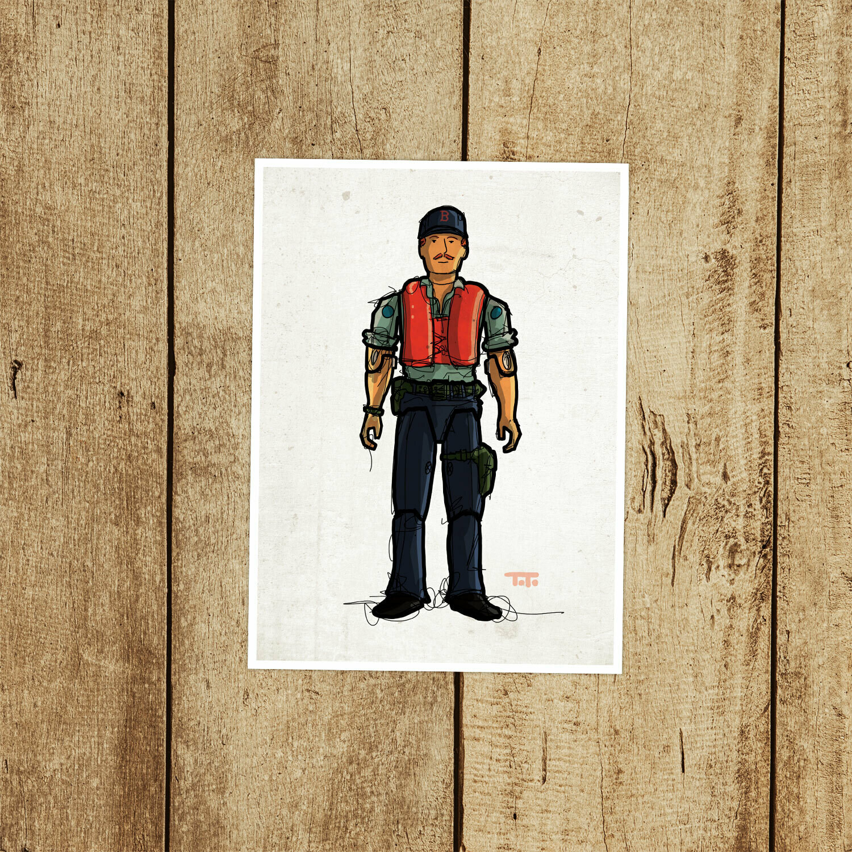"GIJOE365 046 ""Cutter"" Prints"