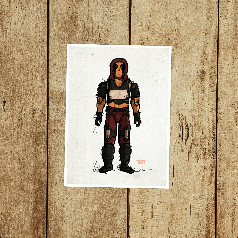 "GIJOE365 050 ""Zartan"" Prints"