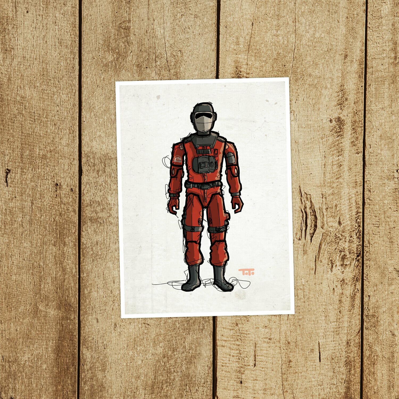 "GIJOE365 054 ""Barbeque"" Prints"