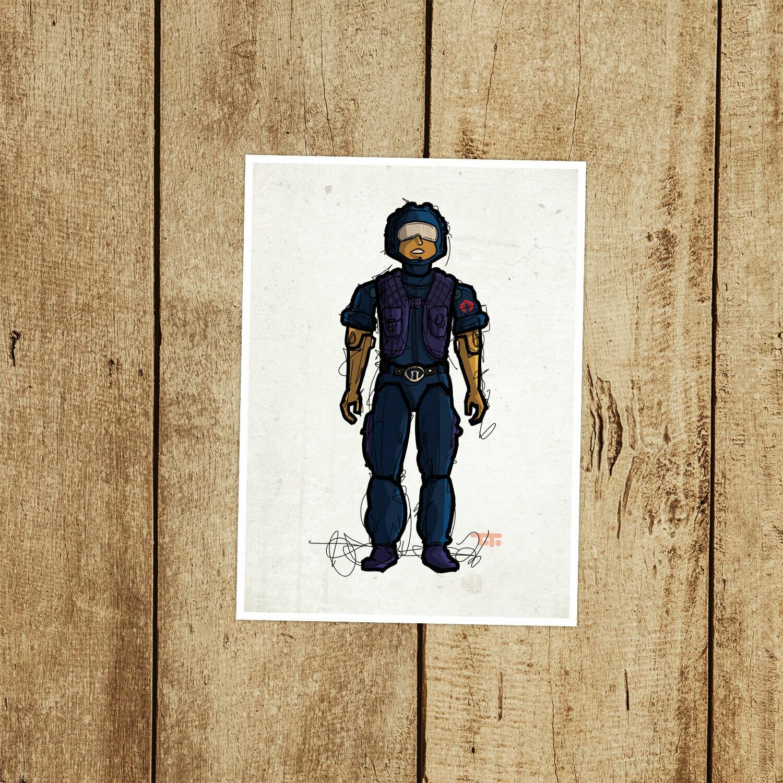 "GIJOE365 068 ""Tele-Viper"" Prints"