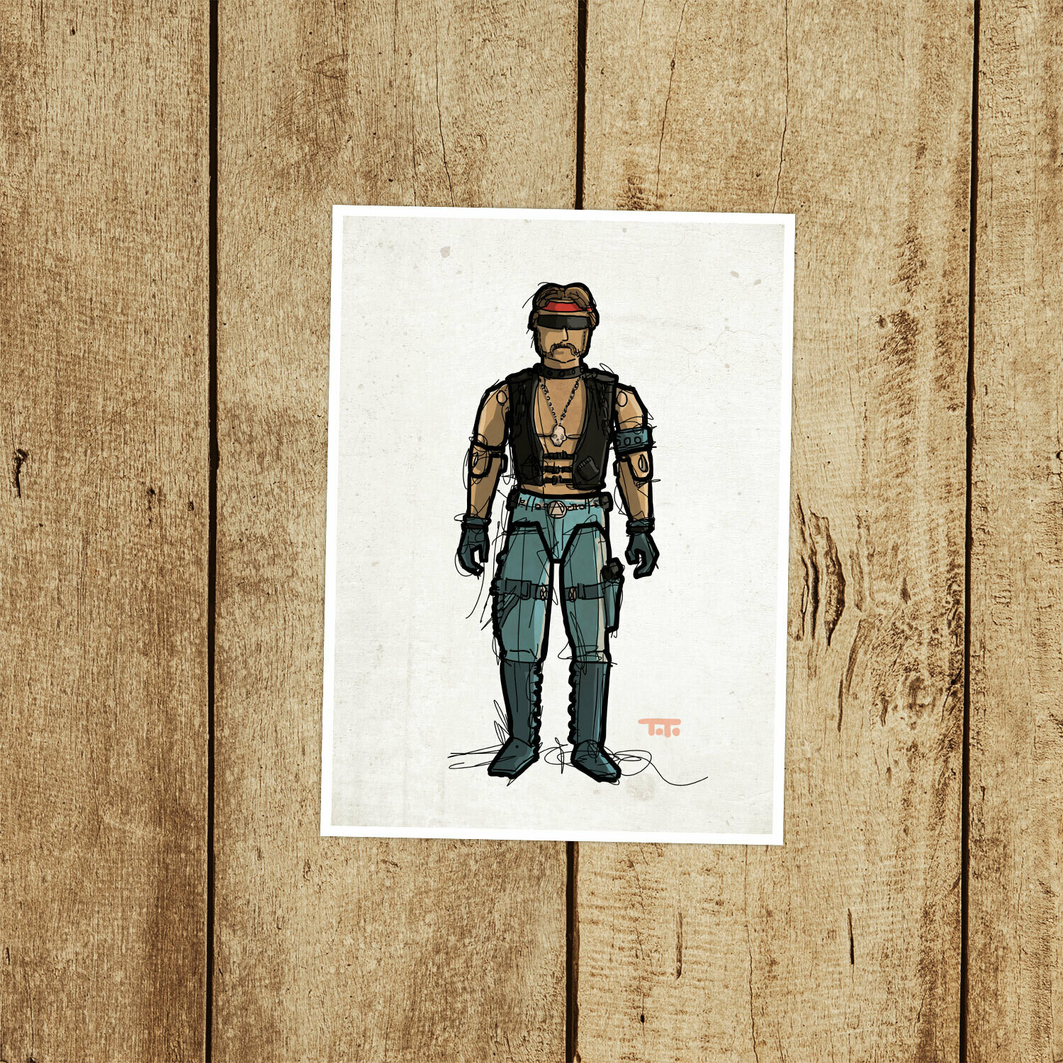 "GIJOE365 070 ""Torch"" Prints"
