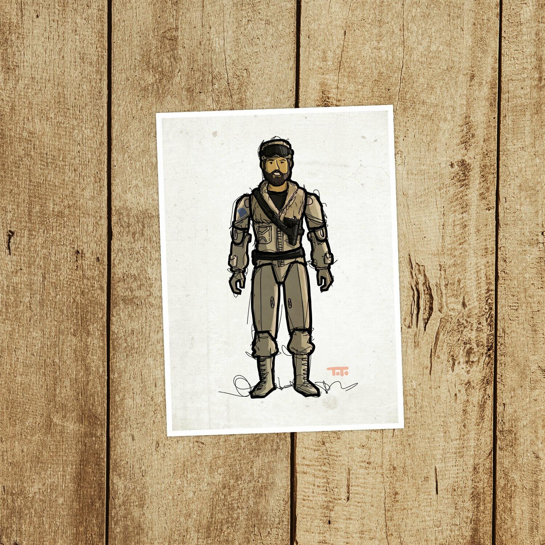 """GIJOE365 073 """"Frostbite"""" Prints"""