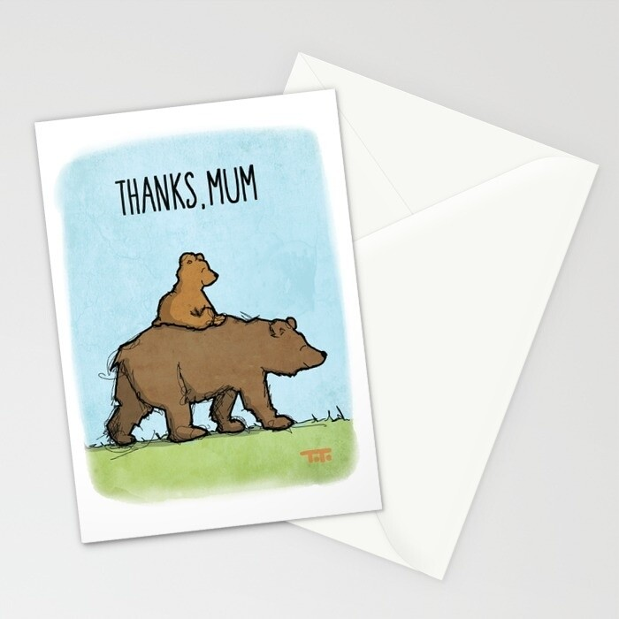 "CARD - Mothers Day - ""Thanks Mum"""