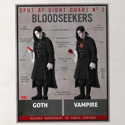 HW - POSTER - Goth / Vampire
