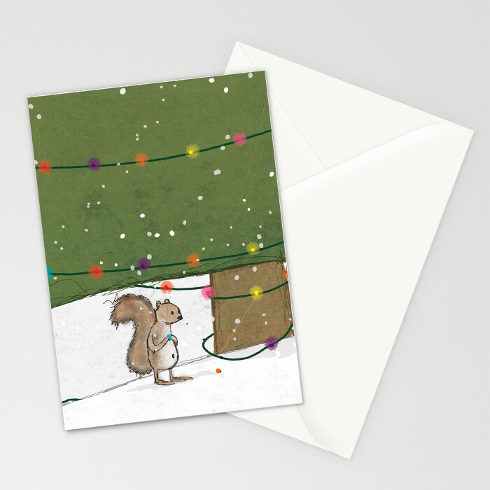 "Woodlands: ""Squirrel"" Card"