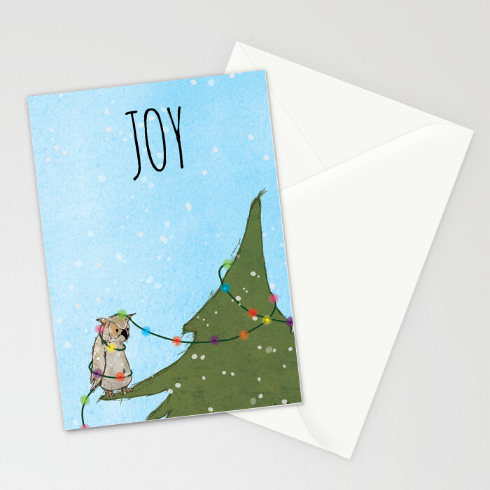 "Woodlands: ""Owl"" Card"