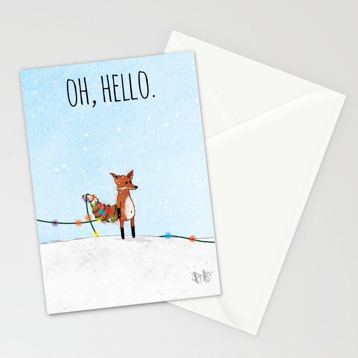 "Woodlands: ""Fox"" Card"