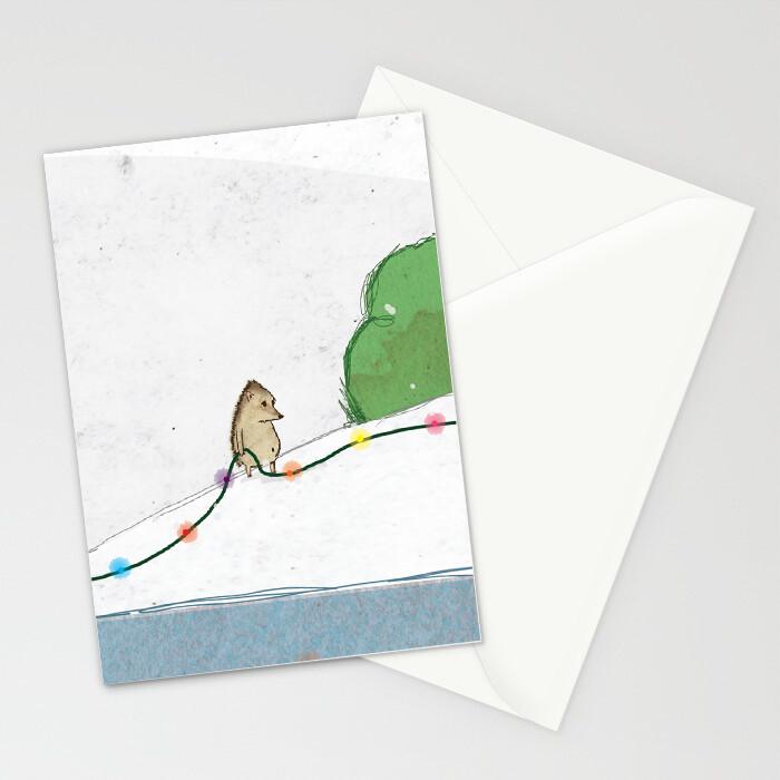 "Woodlands: ""Hedgehog"" Card"