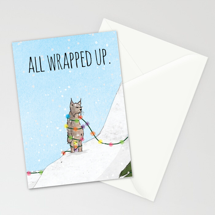 """Woodlands: """"Lynx"""" Card"""
