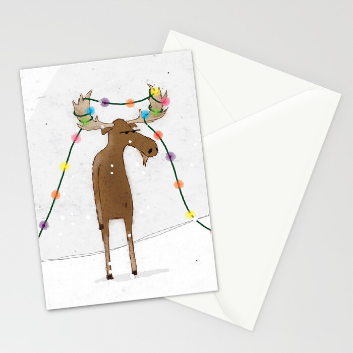 "Woodlands: ""Moose"" Card"