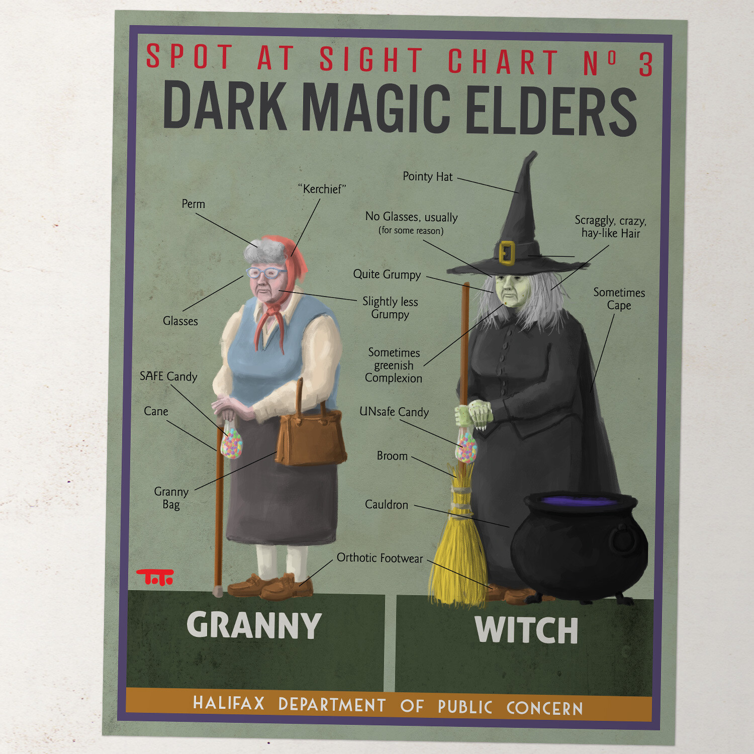 HW - POSTER - Granny / Witch