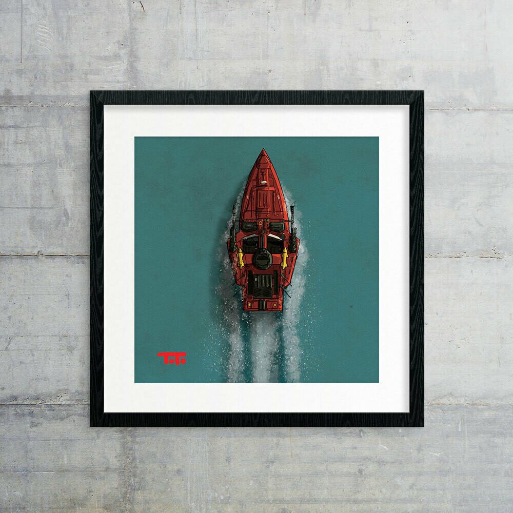 "GIJOE365 ART PRINT - ""Moray"""