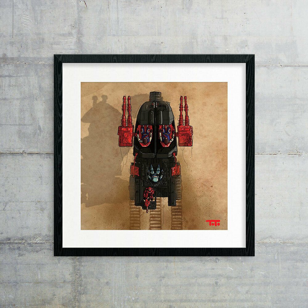 "GIJOE365 ART PRINT - ""STUN"" (closed)"