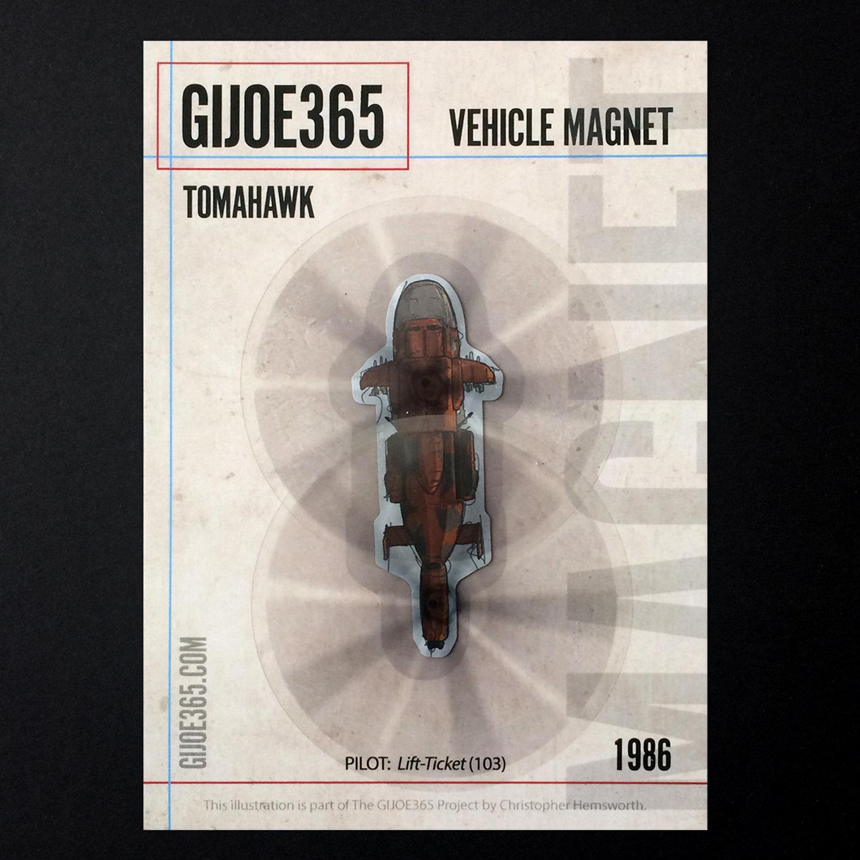 G365 MAGNET - Tomahawk (spinning)