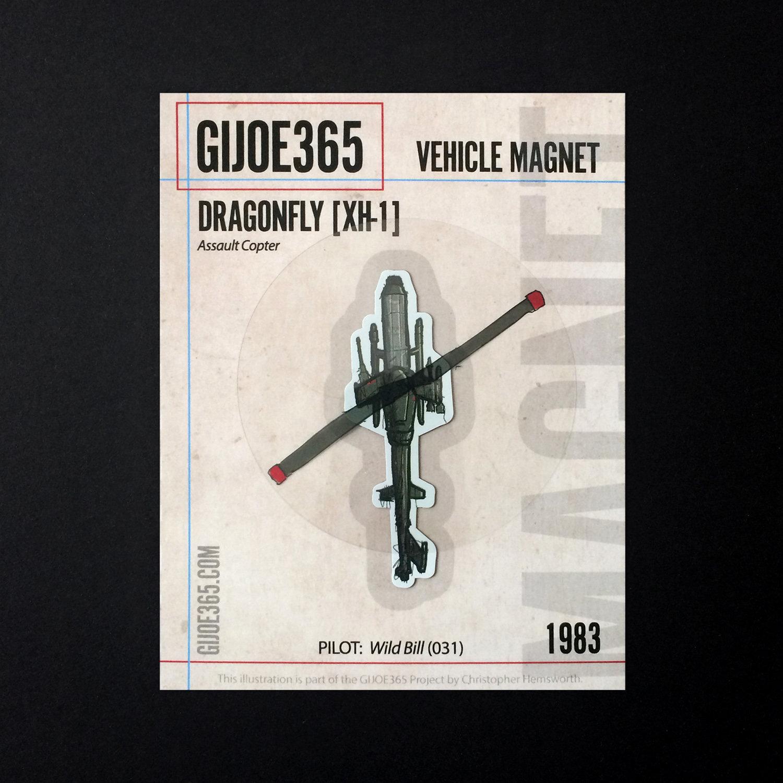 G365 MAGNET - Dragonfly