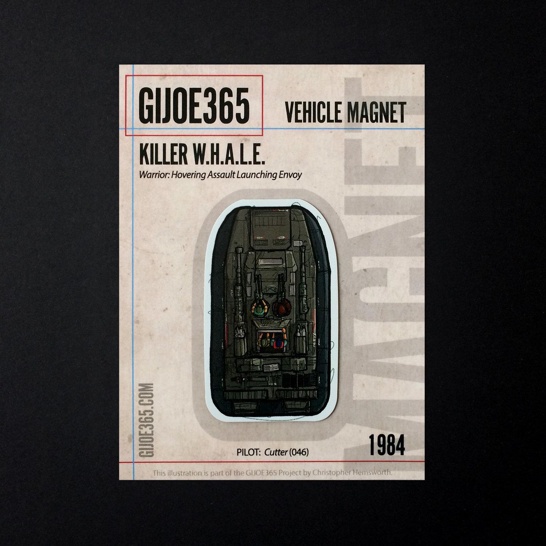 G365 MAGNET - W.H.A.L.E.